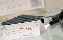 direct deposit advice